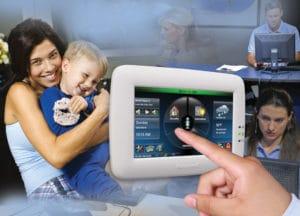 Honeywell Security Keypad | Howland Alarm Company