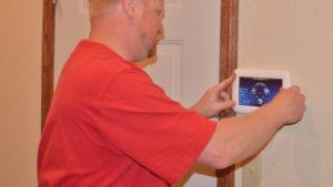 Keypad Installation | Howland Alarm Company